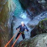 Canyoning Bovec: nichts für Wasserscheue