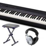 Das PX-160 ist ein sehr kompaktes und leichtes Digitalpiano