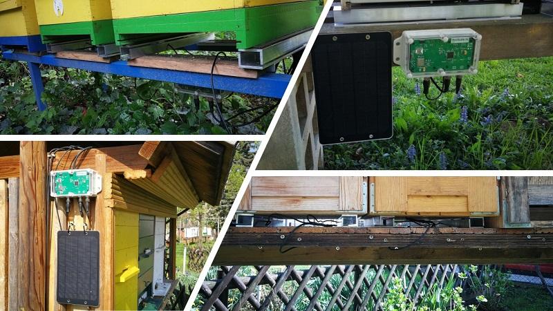 Moderne Bienenstockwaage