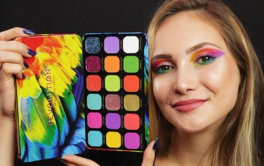 Kosmetikpalette - Revolution Forever Flawless Eyeshadow Palette